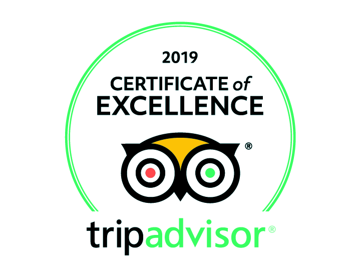 2019 trip advisor certificate of excellence