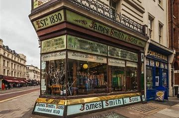 James Smith Umbrellas – a London institution.