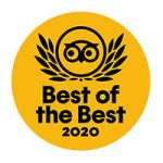 Tripadvisor Traveller's Choice Best of the Best Winner 2020